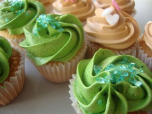 Mini cupcakes colours 13