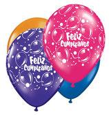 Globo Feliz Cumpleaños con Helio 20