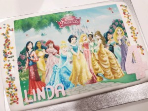 Pastel princesas Barcelona