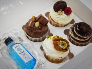 Cupcakes Saphire Box 4