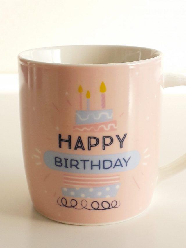 "Taza - ""Happy Birthday"" 6"