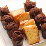 Mini muffins y plumcake de limón