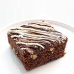 Brownie doble chocolate barcelona