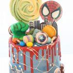 marvel cake personalizado