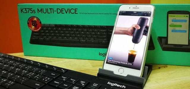 รีวิว Logitech K375s Multi-Device Keyboard ตัวเดียวเฟี้ยวทุกระบบ - รีวิว Logitech K375s Multi-Device Keyboard ตัวเดียวเฟี้ยวทุกระบบ