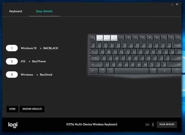 รีวิว Logitech K375s Multi-Device Keyboard ตัวเดียวเฟี้ยวทุกระบบ - Image 006 2 - รีวิว Logitech K375s Multi-Device Keyboard ตัวเดียวเฟี้ยวทุกระบบ