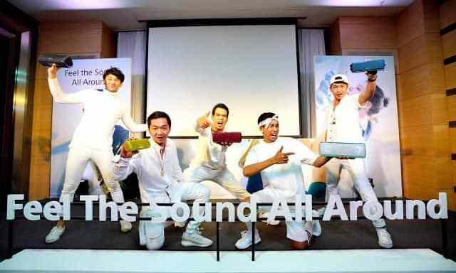 "- Pic Sony27sFeelTheSoundAllAround 06 1 - โซนี่ไทย เดินหน้าส่งทัพผลิตภัณฑ์เครื่องเสียงครบไลน์ ให้ประสบการณ์การฟังเพลง ""Feel The Sound All Around"""