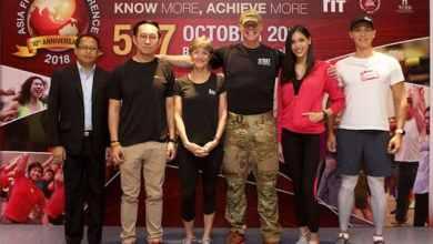 - Asia Fitness Conference 2018 ฉลองปีที่ 10 รวมพลโปรฟิตเนสกว่า 3,300 คน