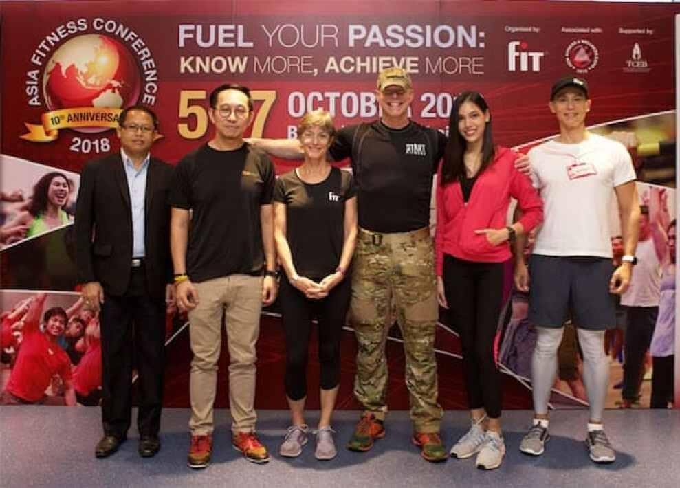 - MainPhoto preview 1 - Asia Fitness Conference 2018 ฉลองปีที่ 10 รวมพลโปรฟิตเนสกว่า 3,300 คน