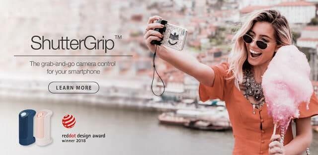 - ShutterGrip main banner 03 2048x 1 - รีวิว Just Mobile ShutterGrip อุปกรณ์ที่ช่วยให้ถ่ายรูปด้วยมือถือได้ง่ายขึ้น ประหนึ่งถือกล้องคอมแพค