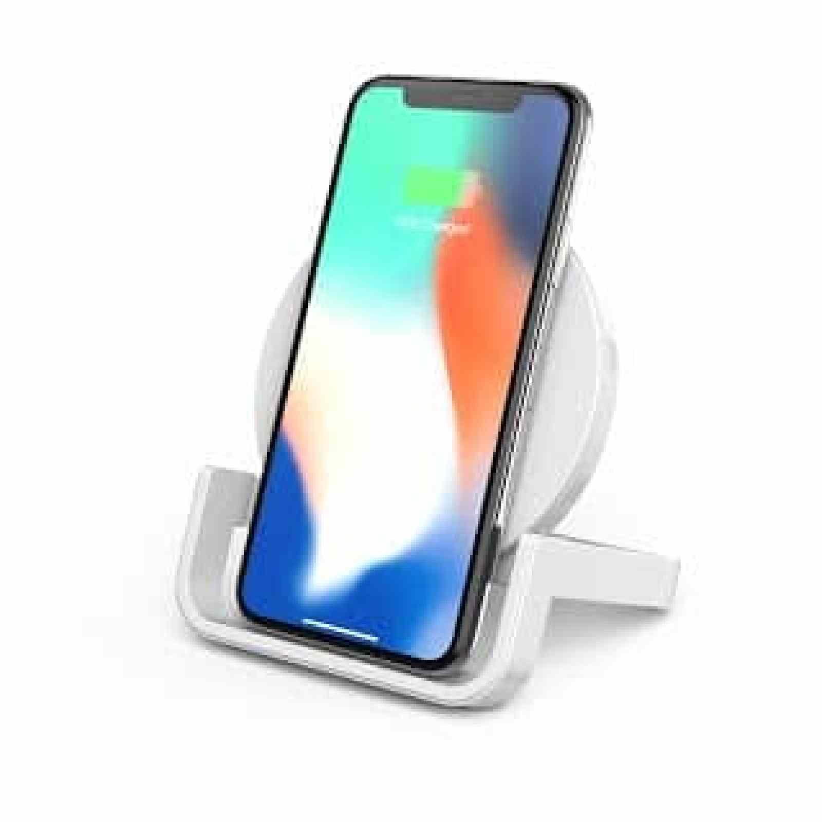 - F7U052 Charging Stand iPhone 2 2 - Belkin นำเสนอแท่นชาร์จมาตรฐาน Qi™ 2 รุ่นใหม่สู่ตลาดเมืองไทย หลังเปิดตัวอย่างยิ่งใหญ่ในงาน CES 2018 ที่ผ่านมา  พันธมิตรอันดับหนึ่งด้านพลังงานสำหรับสมาร์ทโฟนของงาน CES 2018  พร้อมรุกตลาดแท่นชาร์จเกรดพรีเมียมในเมืองไทย
