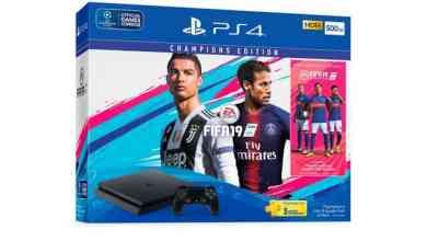 - FIFA19 PS4 Bundle 2 - Sony ประกาศเตรียมวางจำหน่ายชุดเกมคอนโซล PlayStation4 FIFA 19 Bundle Pack ในวันที่ 25 กันยายน ศกนี้