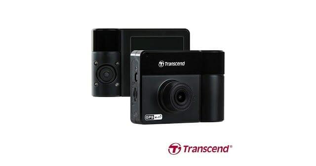 - TRANSCEND DRIVEPRO 550 กล้องติดรถแบบกล้องคู่ บันทึกภาพทั้งด้านหน้าและด้านในรถ