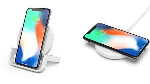- F7U052 Charging Stand iPhone 2 side 2 - Belkin นำเสนออุปกรณ์แท่นชาร์จสมาร์ทโฟนไร้สาย 2 รุ่นใหม่ มาตรฐาน Qi