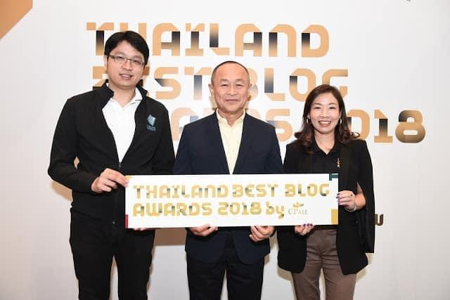 """- TBBA2018 2 2 - ซีพี ออลล์ จัดงานประกาศรางวัล """"Thailand Best Blog Awards 2018 by CP ALL"""" (TBBA) ปีที่ 2 ภายใต้คอนเซ็ปต์ 'บล็อกกา ภิวัตน์…NOW or NEVER'"""