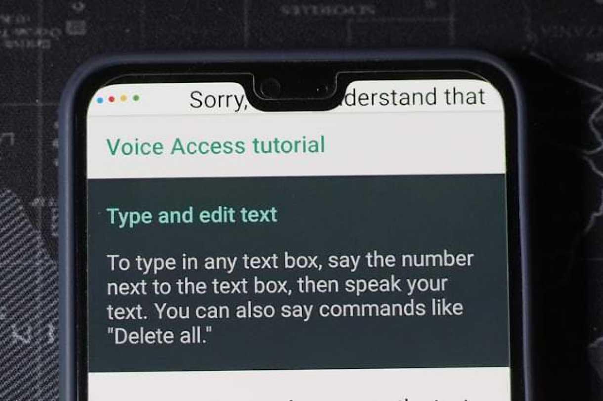 - OI000002 2 - รีวิว Voice Access ควบคุม Android ด้วยเสียงแบบที่ไม่ต้องแตะมือถือเลย