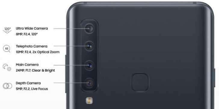 - gsmarena 002 9 - Samsung เปิดตัว Samsung Galaxy A9 (2018) สมาร์ทโฟน 4 กล้องหลังรุ่นแรกของโลก
