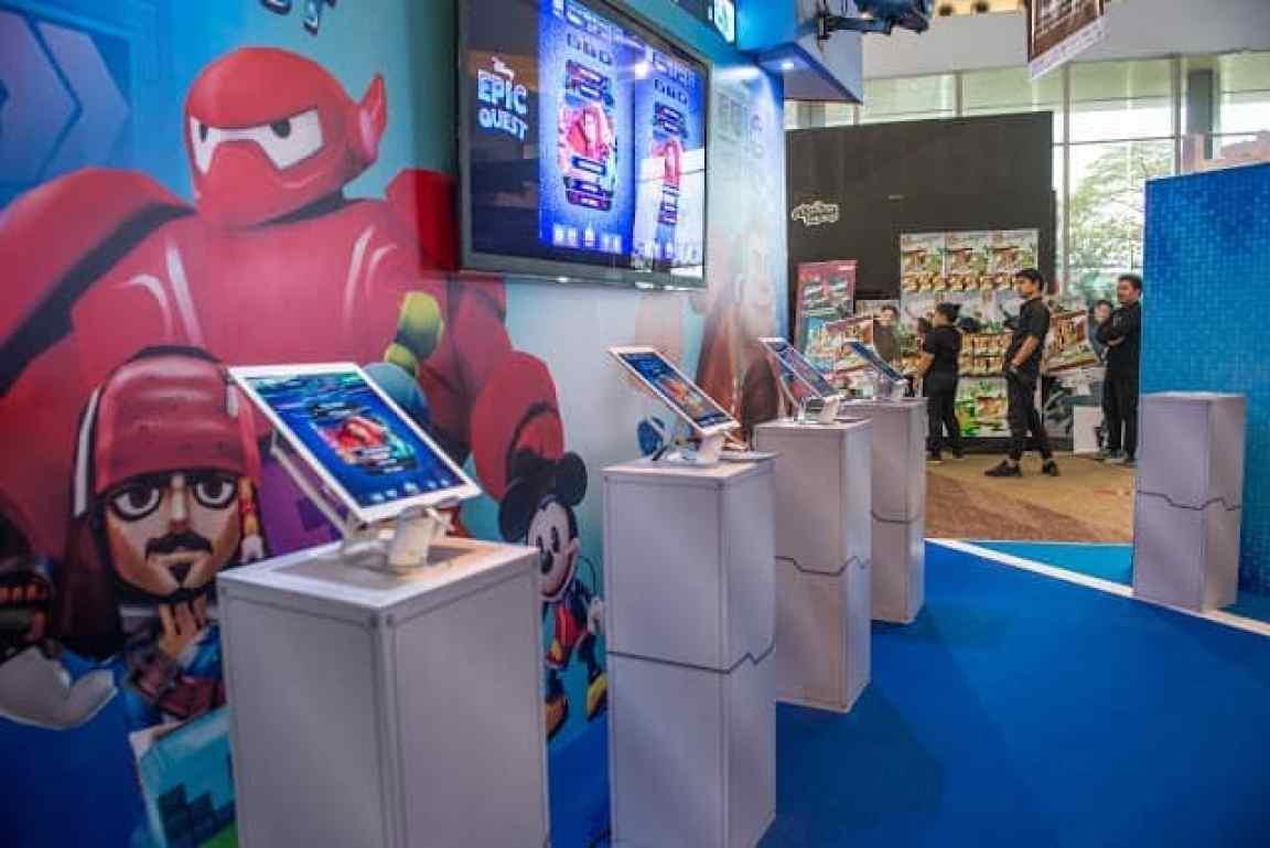 - DisneyBoothatTGS 1 - Disney Epic Quest เกมรวมตัวละครจากภาพยนตร์ดังของดิสนีย์และพิกซาร์ เผยโฉมเป็นครั้งแรกในงาน Thailand Game Show 2018