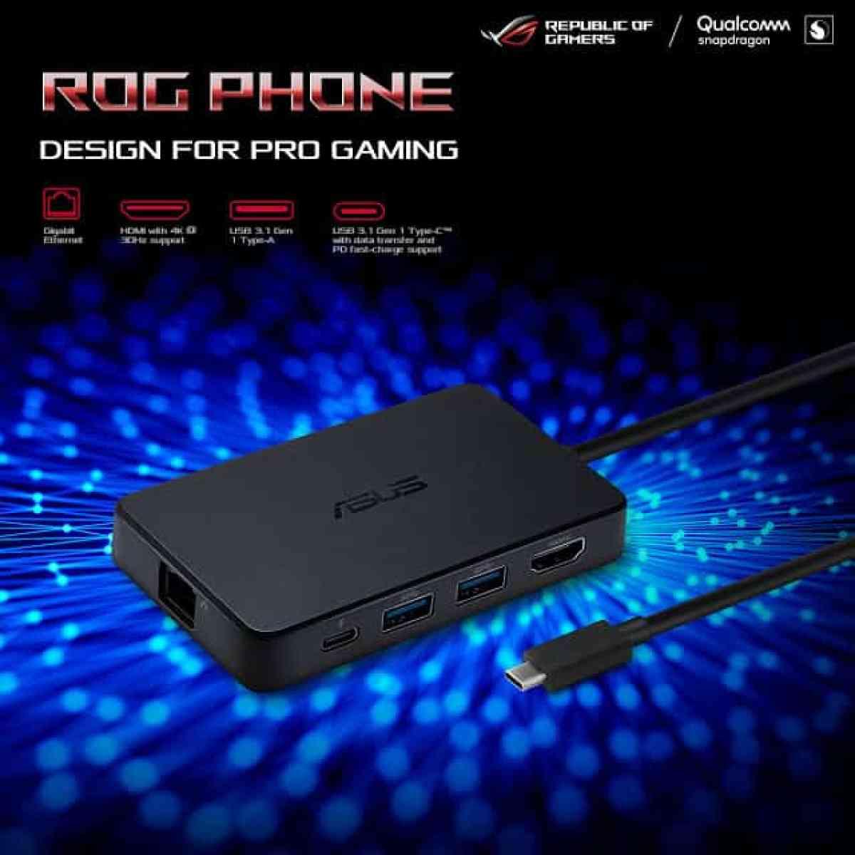 - ProfessionalDock 1 - ASUS เปิดตัว ROG Phone ครั้งแรกในไทย!  แนะนำสุดยอดเกมมิ่งสมาร์ทโฟนที่แรงที่สุดในโลก