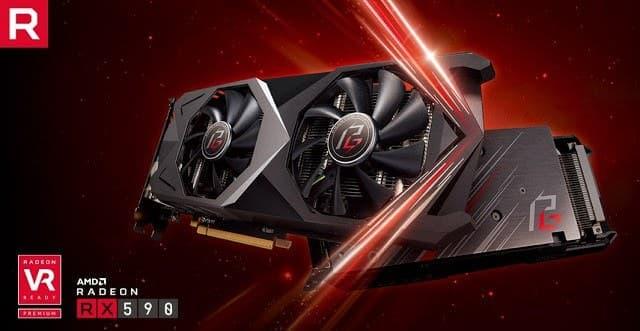 - AMDRadeonRX590 phantomgaming - ASRock นำการ์ดจอระดับไฮเอนด์ Phantom Gaming X Radeon RX590 8G OC ลงสู่ตลาดพร้อมโปรพิเศษจาก AMD