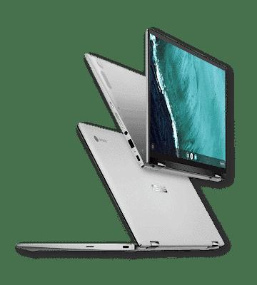 - ASUSChromebookFlipC434 KV versatilemode - ASUS เปิดตัวกลุ่มผลิตภัณฑ์โน๊ตบุ้คใหม่ในงาน CES 2019 อัปเกรดสเปก พร้อมเปิดตัว StudioBook S ซีรีส์ใหม่ล่าสุด