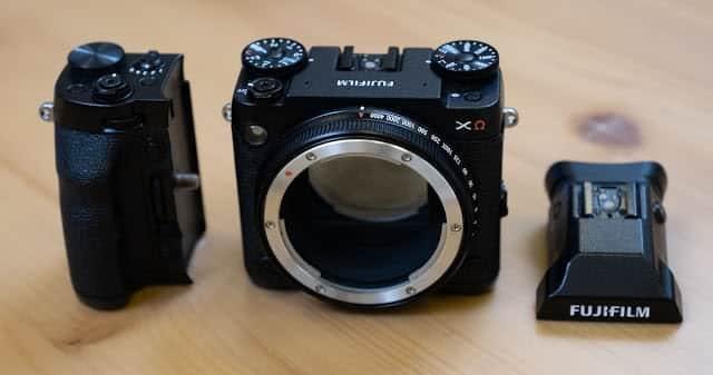 - Fujifilm GFX XCEA9 modular medium format mirrorless camera prototype 1 1 - ชมกล้องต้นแบบ Fujifilm GFX XΩ กล้อง Medium Format แบบ Modular เปลี่ยนชิ้นส่วนได้