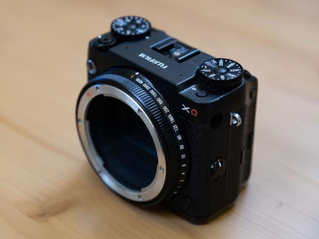 - Fujifilm GFX XCEA9 modular medium format mirrorless camera prototype 5 - ชมกล้องต้นแบบ Fujifilm GFX XΩ กล้อง Medium Format แบบ Modular เปลี่ยนชิ้นส่วนได้