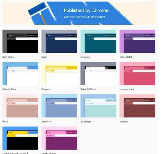 - Chrome สำหรับ Desktop เปิดตัวธีมใหม่ 12 สี พร้อมสีดำ Just Black