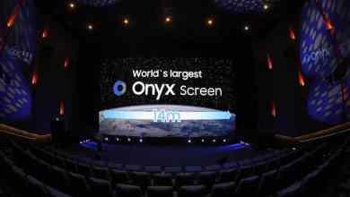 - SamsungOnyxCapitalTheaterBeijing2 - Samsung เปิดตัวจอ LED สำหรับโรงภาพยนตร์ 'Onyx Cinema LED' รุ่น 2 ใหญ่กว่าเดิม 1.4 เท่า เริ่มใช้ในโรงภาพยนตร์ประเทศจีน