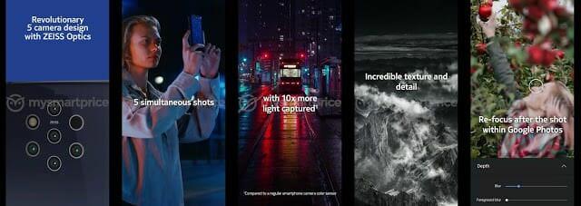 - หลุดวิดีโอโปรโมต Nokia 9 เผยการทำงานของกล้อง 5 ตัว สแกนนิ้วในหน้าจอ รองรับชาร์จไร้สาย