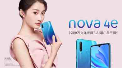 huawei เปิดตัว nova 4e กล้องหน้า 32mp ใช้ kirin 710 - HUAWEI เปิดตัว nova 4e กล้องหน้า 32MP ใช้ Kirin 710