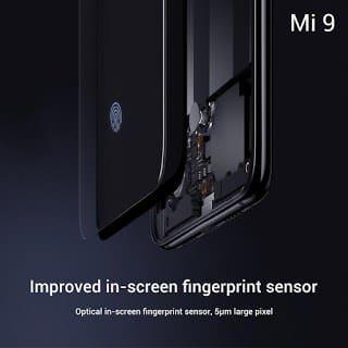 - Xiaomi Mi 9 Optical In display Fingerprint - Xiaomi เปิดตัว Mi9 สเปกจัดเต็ม กล้อง 3 ตัวคะแนน DxOMark 107 ในราคาเอื้อมถึง