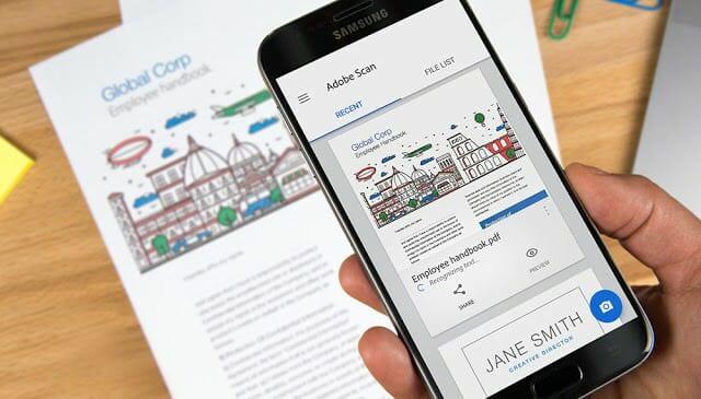- Adobe เปิดตัว Adobe Scan สำหรับ Bixby Vision ครั้งแรกบน Samsung Galaxy Note 9