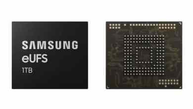 - Samsung เปิดตัวหน่วยความจำ UFS สำหรับสมาร์ทโฟนขนาด 1 TB รายแรกของโลก