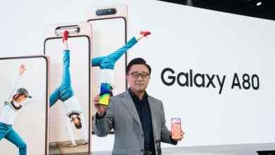 - Samsung เปิดตัว Galaxy A80 กล้องหมุนได้ แจ่มทั้งหน้าและหลัง