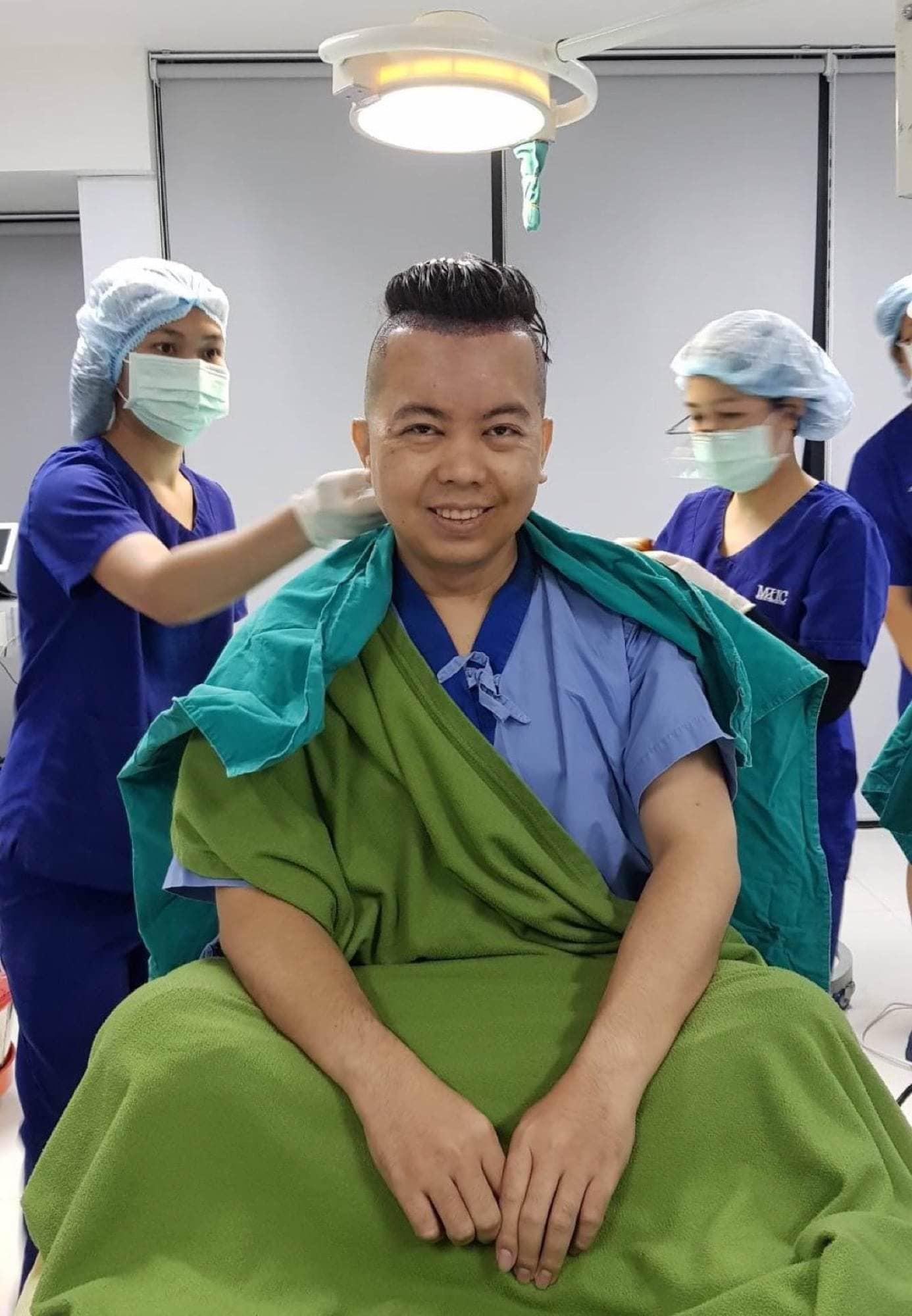 รีวิวการปลูกผม กับเรื่องราว ณ วันผ่าตัด 15