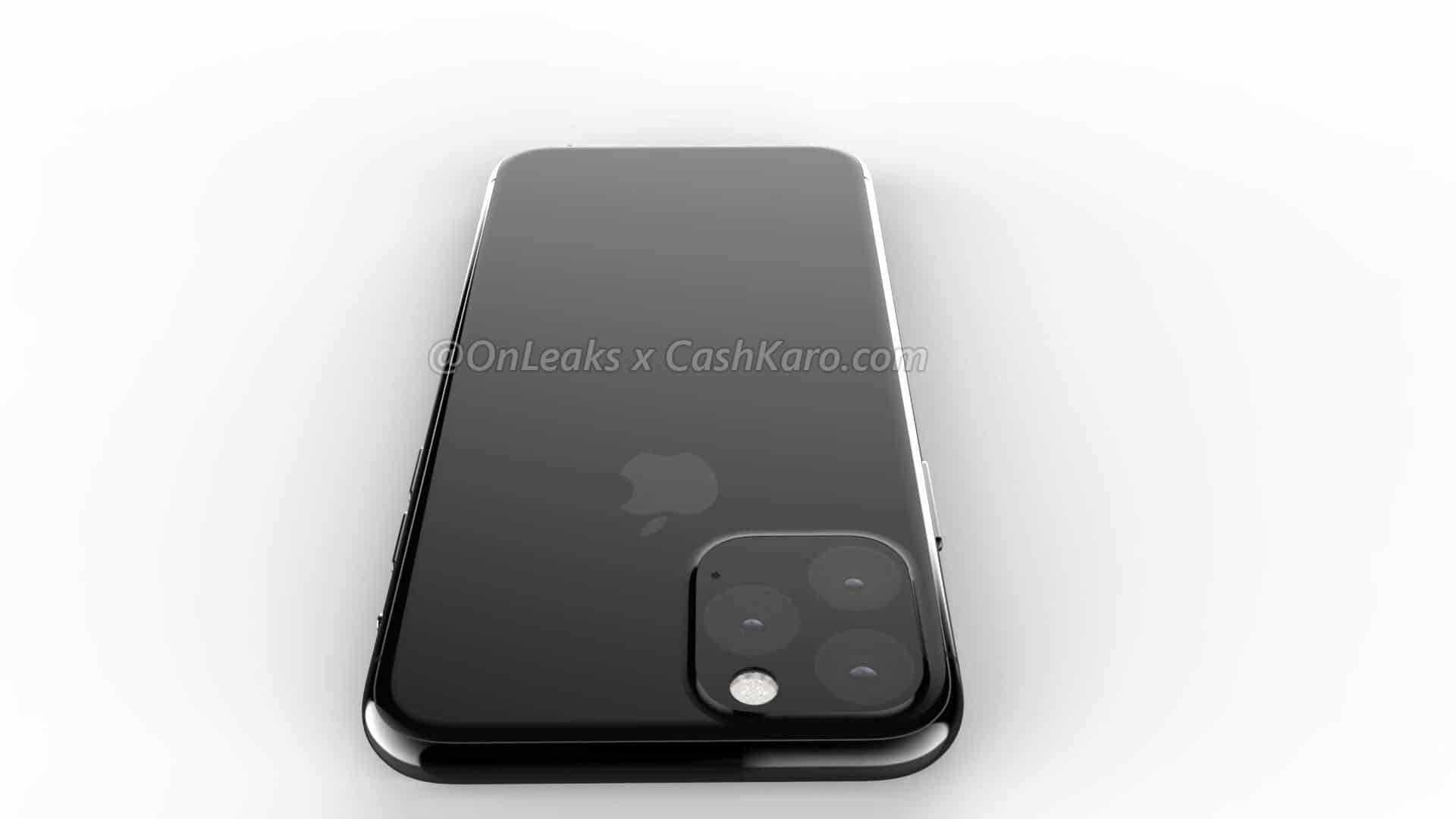 เผยภาพเรนเดอร์ iPhone XI ด้านหน้าเหมือนเดิม ด้านหลังใช้กล้อง 3 ตัว 5