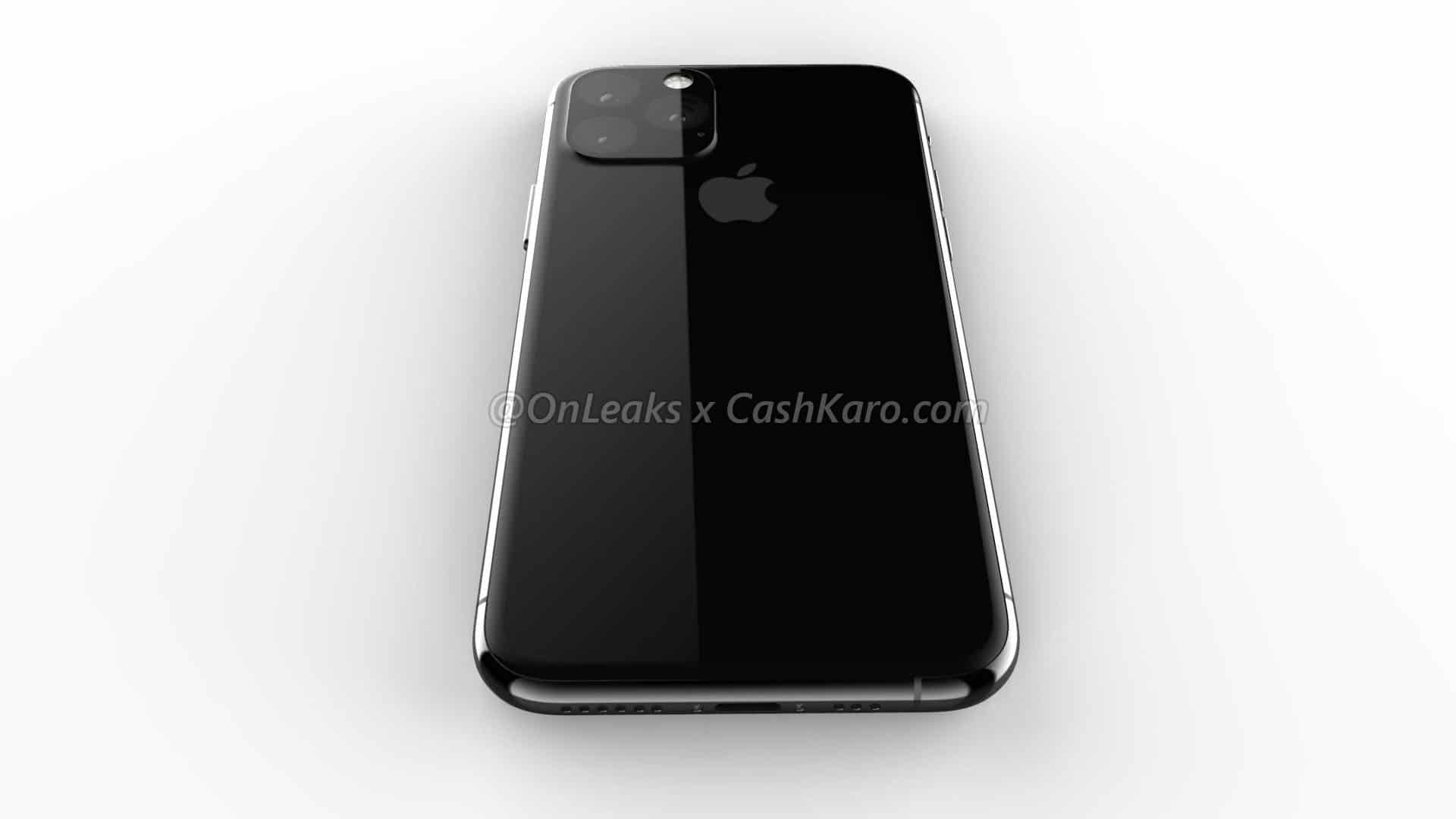 เผยภาพเรนเดอร์ iPhone XI ด้านหน้าเหมือนเดิม ด้านหลังใช้กล้อง 3 ตัว 3