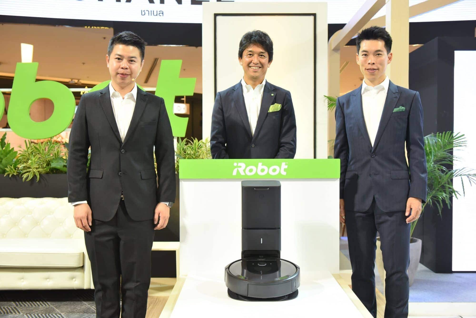 เปิดตัว iRobot Roomba i7+ หุ่มยนต์ดูดฝุ่นอัจฉริยะ พร้อมแท่นกำจัดขยะอัตโนมัติ - เปิดตัว iRobot Roomba i7+ หุ่มยนต์ดูดฝุ่นอัจฉริยะ พร้อมแท่นกำจัดขยะอัตโนมัติ