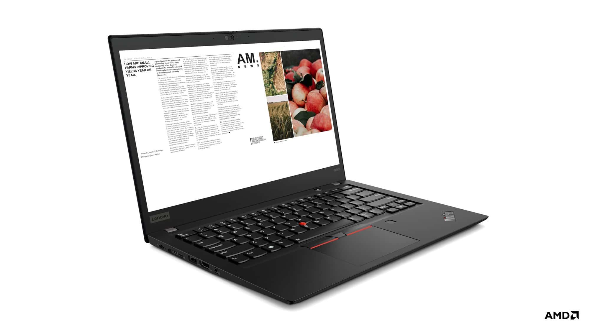 - เปิดตัว Lenovo ThinkPad รุ่นล่าสุด ใช้ AMD Ryzen PRO