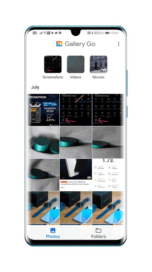 พาทัวร์แอป Gallery Go แอปดูภาพขนาดจิ๋วจาก Google มี AI เสริมเก่ง 2