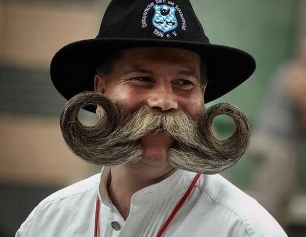 Los bigotes ms raros del mundo