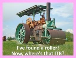 Foam roller for ITB