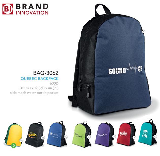 Quebec Backpack South Africa