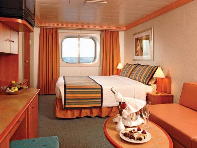La Magie des Caraïbes avec le Costa Magica - Cabines avec vue sur mer
