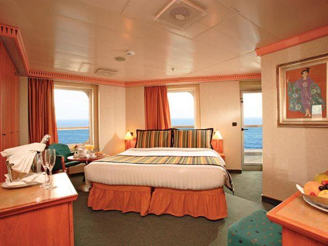 La Magie des Caraïbes avec le Costa Magica - Les Suites avec vue sur mer