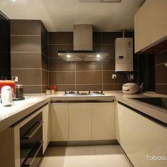 Compact Kitchens French Kitchen Table Marble 紧凑小厨房装修效果图 土拨鼠装修经验 紧凑小厨房