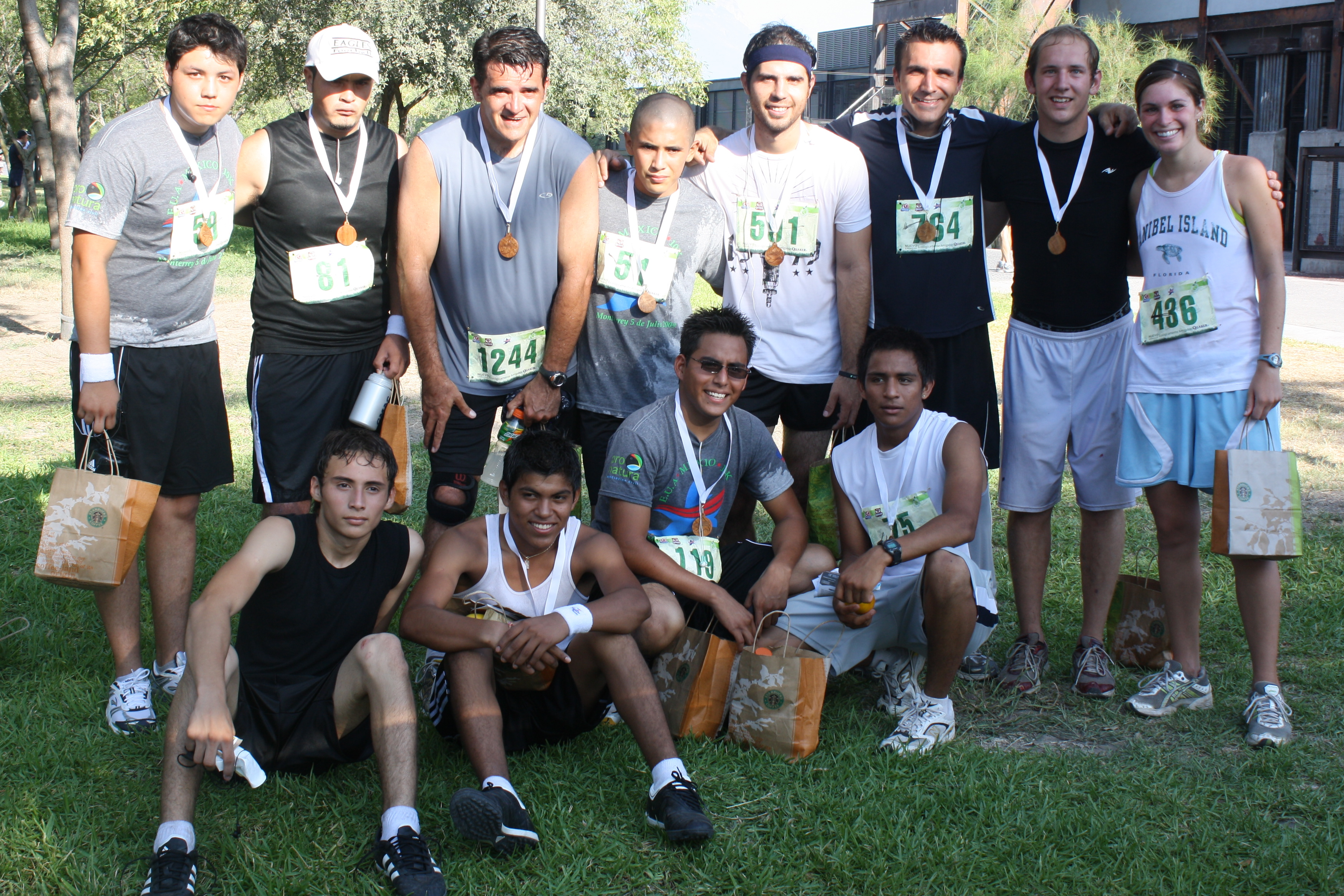 1st row: Ruben, Leo, Cesar, Antonio 2nd row: Oscar, Omar, Tim, Homero, Mauricio, Matt, Shawn, Abby