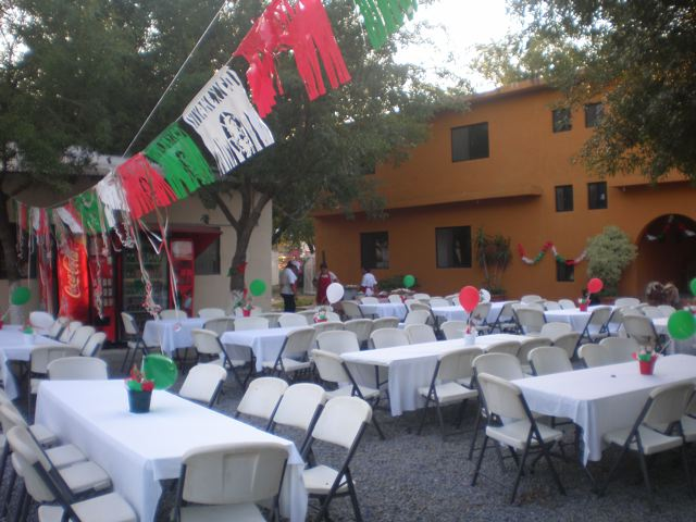 The children at Douglas Children's Home helped decorate for the party