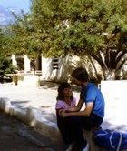 Angel & Shawn at Casa Hogar Douglas in 1987